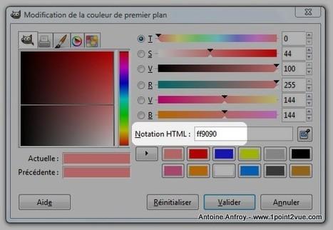 Les couleurs en RVB et notation HTML   Photo, Illustration, Montage, Modélisation & Musique LIBRE !   Scoop.it