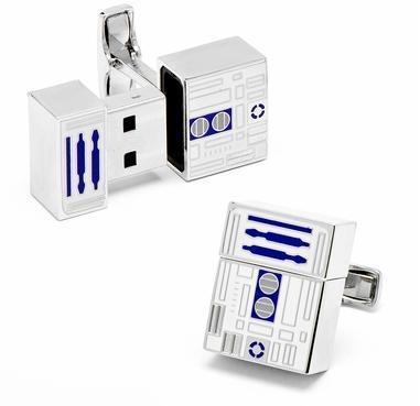 Star Wars R2D2 USB Flash Drive Cufflinks   All Geeks   Scoop.it
