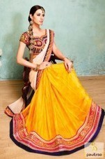 Rivaa Designer Embrodery Party Wear Sarees   Pavitraa   Scoop.it