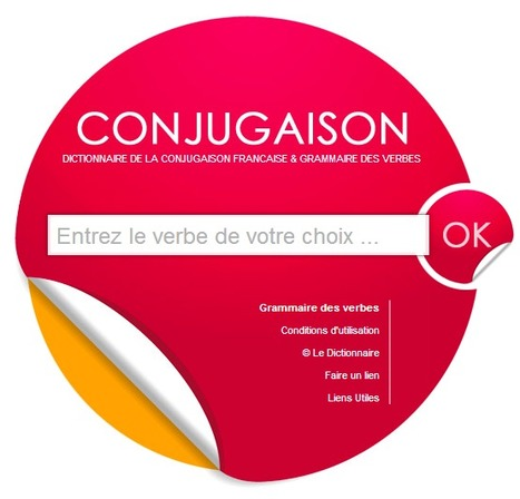 CONJUGAISON - Conjugaison française & grammaire des verbes   LA PAUSE   Scoop.it