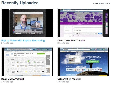EdTechTeacher Video Tutorial Library | 21st Century Concepts-Technology in the Classroom | Scoop.it