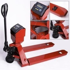 Prime 5000lb/1lb Pallet Truck / Pallet Jack / Pallet Scale with Indicator | Cheap Industrial And Commercial Scales | Scoop.it