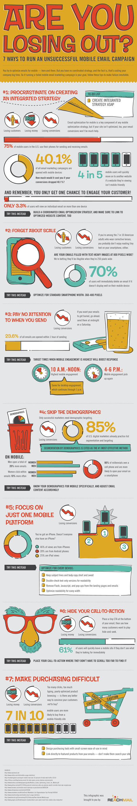 If You're Going to Market to Mobile Users, Do It Right [INFOGRAPHIC] | digital marketing | Scoop.it