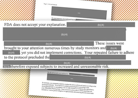 The Food and Drug Administration Covers Up Evidence of Fraud, Fabrication, and Scientific Misconduct | Neural Sciences. | Scoop.it