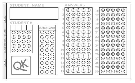 [APP]自動改考卷 試題評量好工具 : QUICK KEY 和猿題庫 | Wayne ESL Blog 資訊融入教學 | Scoop.it