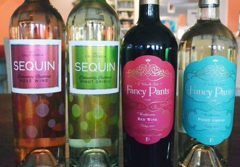 Girly Labels in Pastel Colors:  Do They Turn You On or Off to a Wine? | Wine labels | Scoop.it