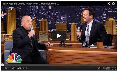 Jimmy Fallon, Billy Joel and an iPad App – Two Man Doo-wop Group | iPad Insight | Toolkit for integration | Scoop.it