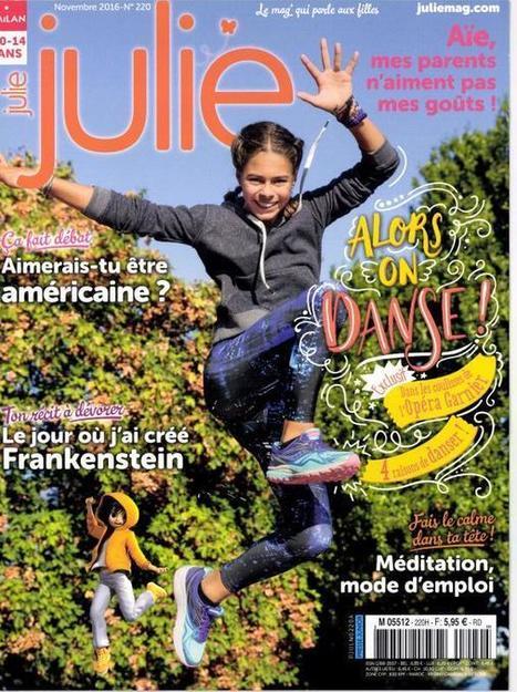 Julie n° 220 - Novembre 2016   Les revues du CDI - Collège Marc Chagall   Scoop.it