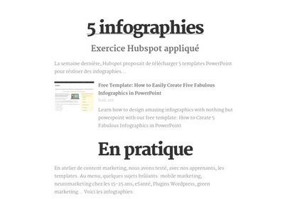Templates infographies | Web Marketing : Tendances, Chiffres, Infos | Scoop.it