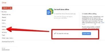 This is How to Use Google Drive Offline | TEFL & Ed Tech | Scoop.it