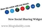 Add New Social Sharing Widget Below Every Post In Blogger - Blogs Daddy | Blogger Tricks, Blog Templates, Widgets | Scoop.it