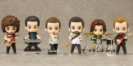 Rock Band Linkin Park's Nendoroid Petite Figures Unveiled | Anime News | Scoop.it