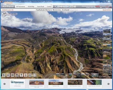 AMAZING 360 Degree Aerial Panorama | 3D Virtual Tours Around the World | | Amazing tours | Scoop.it