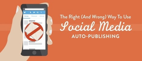 The Truth About Social Media Auto-Publishing And Your Brand | Artdictive Habits : Sustainable Lifestyle | Scoop.it