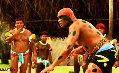 Anderson Silva Visits Amazonian Tribe To Do Some Traditional Wrestling | Traditional Games and Ethnosport | Scoop.it