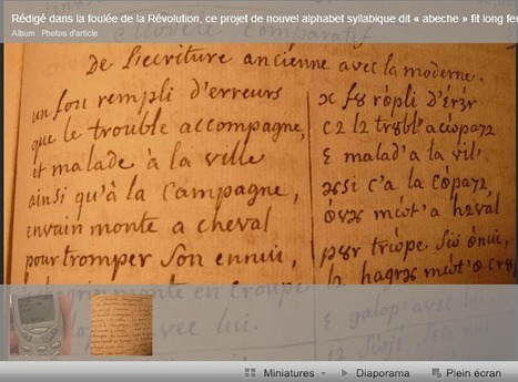 L'abéchedaire de 31 lettres - L'Est Républicain | GenealoNet | Scoop.it
