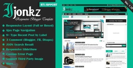 Download Apriezt – Responsive Magazine/News Blogger Theme (Blogger) FREE | Themes Villa | Blogger themes | Scoop.it