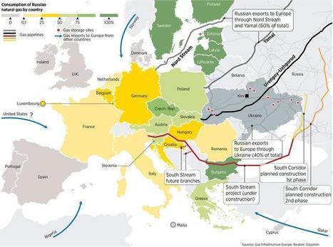 Consumption of Russian Gas in Europe | GeoRisk | Scoop.it