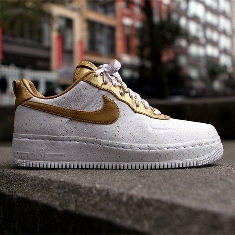 Nike Air Force 1 Low Supreme i/o tz Gold Medal - $350 | design - Art | Scoop.it