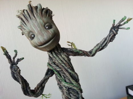 Dancing Groot from Guardians of the Galaxy. Actually dances! TUTORIAL | DIY | Maker | Scoop.it
