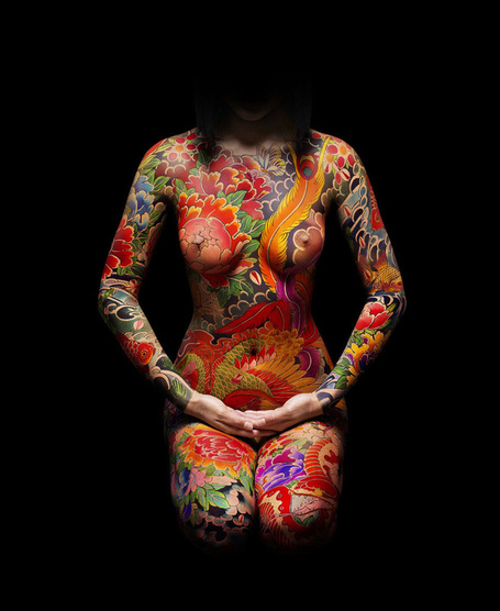 Amazing tattoo created by horikitsune | TrendsArt | Scoop.it