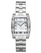 Tarawa Women's Stainless Steel Mother-of-Pearl Diamond Dial Diamond Bezel | Best Watches Online | Scoop.it