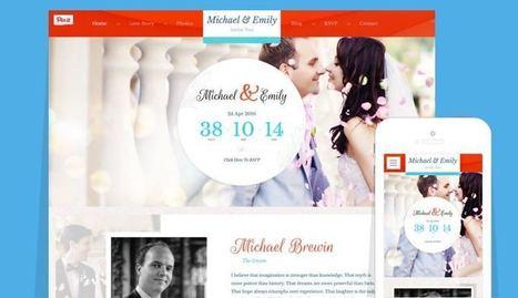 Wedding WordPress Marriage / Love Memory Theme   Free Premium WordPress Themes   Scoop.it