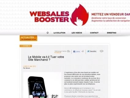 """Le Mobile va-t-il Tuer votre Site Marchand ? « L'info """"Autrement"""" cftc ...   Internet world   Scoop.it"""