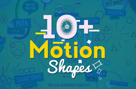 10+ Motion Shapes Free After Effects Templates - Free After Effects Template - Videohive projects   Interactive tools & reference   Scoop.it