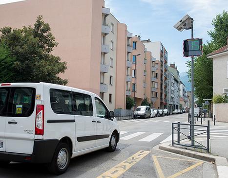 Radars pédagogiques, en route pour le 30 km/h | Gre.mag, le webzine de la Ville de Grenoble | Radar Pédagogique | Scoop.it