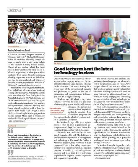 University Affairs - January 2013 - Page 10 | THAT'S EDUTAINMENT! | Scoop.it