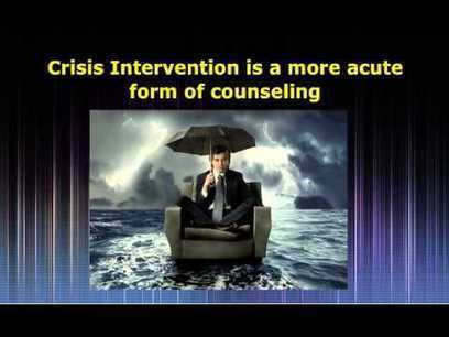 Become certified as a Crisis Counselor