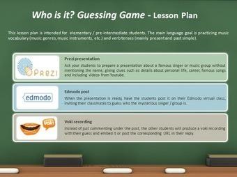 My EVO Portfolio: Classdigitools - Week 1 - Lesson plan | EVO For EFL Teachers | Scoop.it