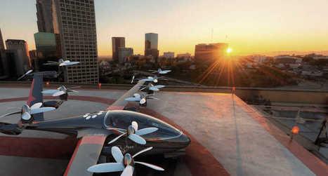 À quand les drones taxis pour nous, simples animaux terrestres ? | Crakks | Scoop.it