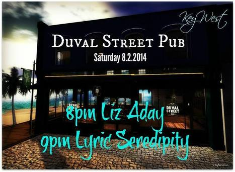 Liz Aday and Lyric Serendity Live @ Duval Street Pub - Second Life   Music and Art from start to finish   Scoop.it