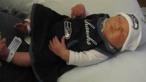 Seattle Seahawks fans name baby '12th Mann'  - TODAY.com | Kickin' Kickers | Scoop.it