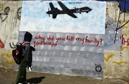 People of Yemen Protest Drone Strikes Through Graffiti and Poetry ... | CityGraffiti | Scoop.it