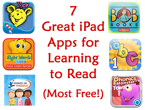 7 Great iPad Apps for Learning to Read (Most Free!) | Kindred Spirit Mommy | How to Use an iPad Well | Scoop.it