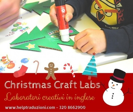 Da fare a Pisa: laboratori creativi in inglese per Natale | Love Languages | Scoop.it
