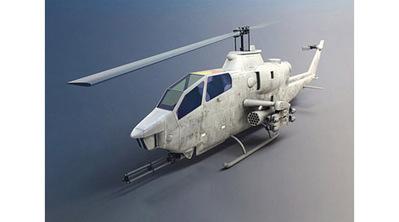 Hélicoptère Cobra en 3D | 3D Library | Scoop.it
