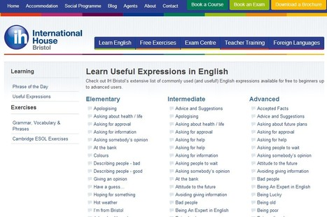 Useful Expressions in English | Commonly Used English Expressions | English didactics | Scoop.it