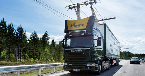 Adieu les camions polluants : la Suède construit des lignes électriques pour les poids lourds | Actualité du secteur Energetique | Scoop.it