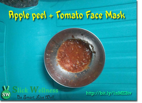 My quick Apple Peel + Tomato Face Mask Recipe | Life, Love, Personal Development and Family | Scoop.it