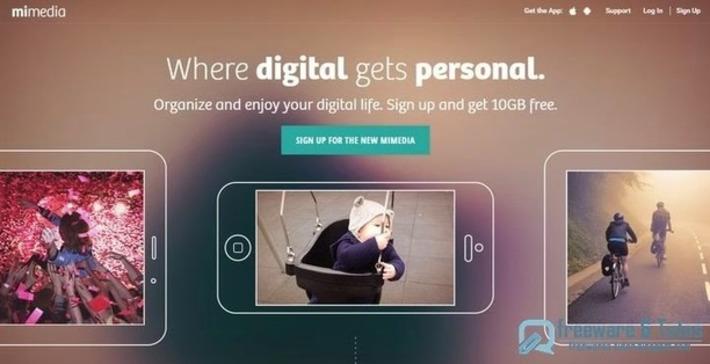 """MiMedia : 10 Go d'espace de stockage en ligne pour ses fichiers multimédia   Veille Techno et Informatique """"AutreMent""""   Scoop.it"""