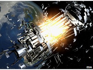 Space collisions expected to rise dramatically during the next 200 years | Amazing Science | Scoop.it