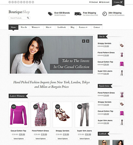 10 Most Decorous WooCommerce Themes for 2015 - All about WordPres | Open Source Software Development Services | Scoop.it