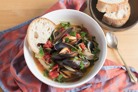 Cozze e Finocchi al vino bianco | Mussels and Fennel Cooked in White Wine | Le Marche and Food | Scoop.it