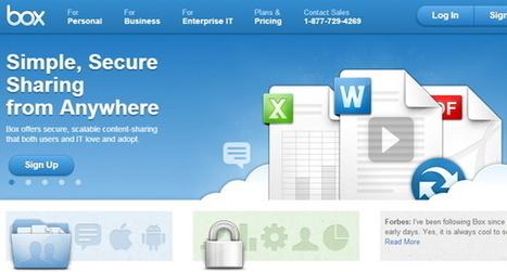 Dropbox, Mega, Google Drive, Box, SkyDrive y Bitcasa, ¿con cuál me quedo? | ticJR | Scoop.it