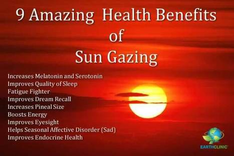 Sun Gazing for Health: An Ancient Therapy | Health Supreme | Scoop.it