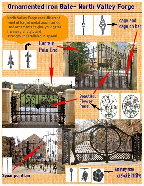 Iron Gates Blog — We are pioneer in wrought iron gate | wrought iron gate's journal | Scoop.it